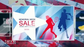 Tennis Express Memorial Week Sale TV Spot, 'Range of Shoes & Apparel'
