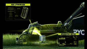 Ryobi 40V Mower TV Spot, 'The Cordless Revolution Has Arrived'