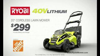 Ryobi 40V Mower TV Spot, 'The Cordless Revolution Has Arrived' - Thumbnail 10