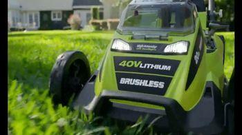 Ryobi 40V Mower TV Spot, 'The Cordless Revolution Has Arrived' - Thumbnail 9