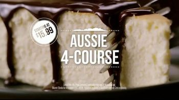 Outback Steakhouse Aussie 4-Course Meal TV Spot, 'The Middle Seat: Lunch' - Thumbnail 7