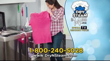 Dry N Steam TV Spot, 'Wrinkle-Releasing Machine' - Thumbnail 7