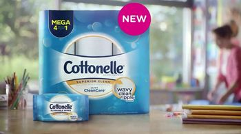 Cottonelle TV Spot, 'Feel the New Wave of Clean' - Thumbnail 1