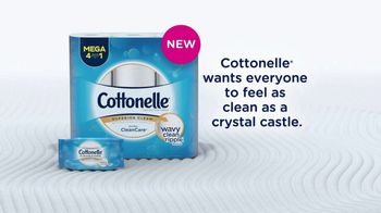 Cottonelle TV Spot, 'Feel the New Wave of Clean' - Thumbnail 9
