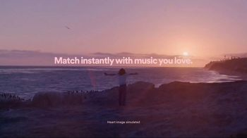 Spotify TV Spot, 'Match Instantly: Beach' Song by The Weeknd - Thumbnail 9