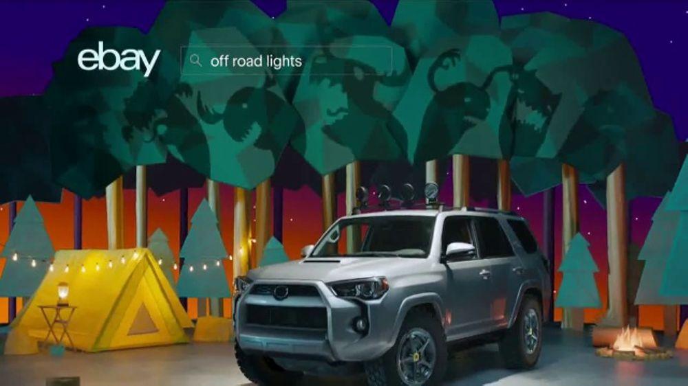 eBay Motors TV Commercial, \'Camping Trip\' - iSpot.tv