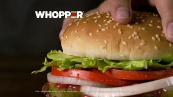 Burger King 2 for $6 Mix or Match TV Spot, 'Flame Grilled' - Thumbnail 6