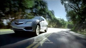 Acura Memorial Day TV Spot, 'Experience: RDX' [T2] - 101 commercial airings