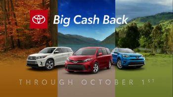 Toyota TV Spot, 'Big Cash Back' [T2] - Thumbnail 2