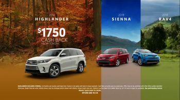 Toyota TV Spot, 'Big Cash Back' [T2] - Thumbnail 4