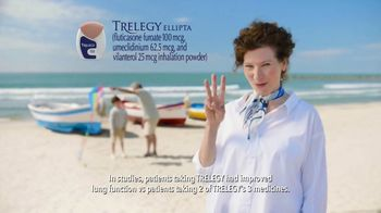 TRELEGY TV Spot, 'Beach'