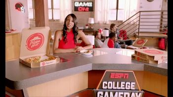 Pizza Hut TV Spot, 'ESPN: Pump Fake' Featuring Maria Taylor - Thumbnail 1