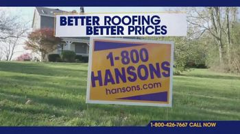 1-800-HANSONS Fall Savings Days TV Spot, 'Free Attic Installation'