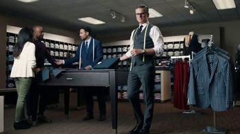 Men's Wearhouse TV Spot, 'Big and Broad to Trim and Slim: Buy One, Get One' - Thumbnail 1