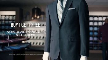 Men's Wearhouse TV Spot, 'Big and Broad to Trim and Slim: Buy One, Get One' - Thumbnail 5