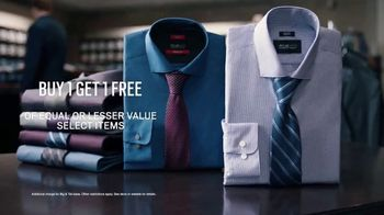 Men's Wearhouse TV Spot, 'Big and Broad to Trim and Slim: Buy One, Get One' - Thumbnail 6