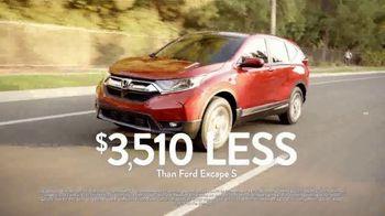 2018 Honda CR-V TV Spot, 'The Total Cost of a Car' [T2] - Thumbnail 7