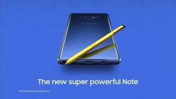 Samsung Galaxy Note9 TV Spot, 'All the Power You Need' - Thumbnail 10