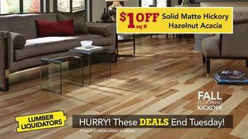 Lumber Liquidators Fall Flooring Kickoff TV Spot, 'Over 100 Styles' - Thumbnail 4