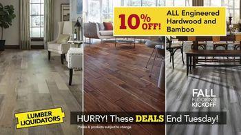 Lumber Liquidators Fall Flooring Kickoff TV Spot, 'Over 100 Styles' - Thumbnail 5