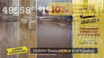 Lumber Liquidators Fall Flooring Kickoff TV Spot, 'Over 100 Styles' - Thumbnail 6
