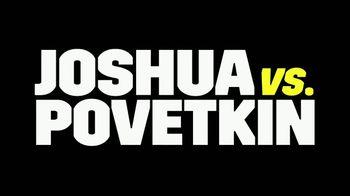 DAZN TV Spot, 'Joshua vs. Povetkin' - Thumbnail 10