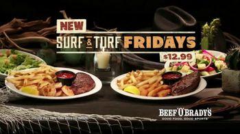 Beef 'O' Brady's Surf & Turf Fridays TV Spot, 'Turf & Surf' - Thumbnail 10