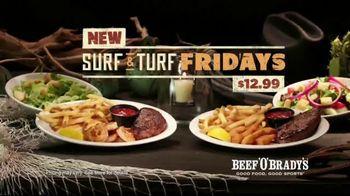 Beef 'O' Brady's Surf & Turf Fridays TV Spot, 'Turf & Surf' - Thumbnail 8