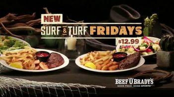 Beef 'O' Brady's Surf & Turf Fridays TV Spot, 'Turf & Surf' - Thumbnail 9