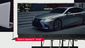 2018 Lexus LS TV Spot, 'History Channel: A Glimmer of Elegance' [T1] - Thumbnail 3