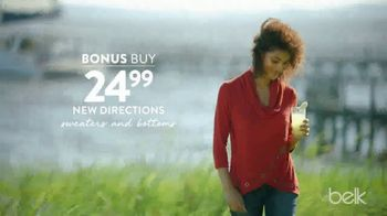 Belk Anniversary Sale TV Spot, 'New Directions and Mens Pants' - Thumbnail 3