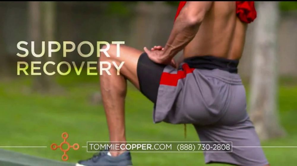 Tommie Copper Lower Back Support Bottoms TV Commercial, 'Core Compression'