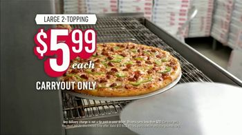 Domino's Large Two-Topping Pizza TV Spot, 'Ludicrous Speed' - Thumbnail 1