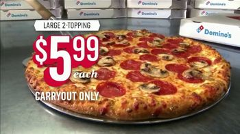 Domino's Large Two-Topping Pizza TV Spot, 'Ludicrous Speed' - Thumbnail 10