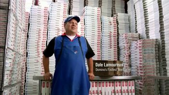 Domino's Large Two-Topping Pizza TV Spot, 'Ludicrous Speed' - Thumbnail 4