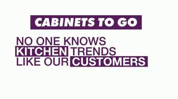 Cabinets To Go Customer Favorites Sale TV Spot, 'Kitchen Trends' - Thumbnail 1