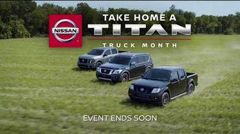 Nissan Take Home a Titan Truck Month TV Spot, 'Take Home Big Savings' [T2] - Thumbnail 10