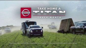 Nissan Take Home a Titan Truck Month TV Spot, 'Take Home Big Savings' [T2] - Thumbnail 2