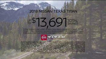 Nissan Take Home a Titan Truck Month TV Spot, 'Take Home Big Savings' [T2] - Thumbnail 8