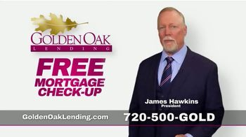 Golden Oak Lending TV Spot, \'Free Mortgage Check-Up\'