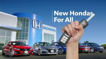 New Hondas For All Sales Event TV Spot, 'Pool Party' [T2] - Thumbnail 6