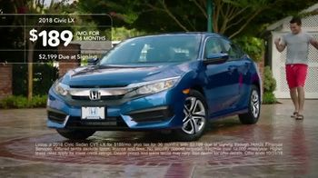 New Hondas For All Sales Event TV Spot, 'Pool Party' [T2] - Thumbnail 7