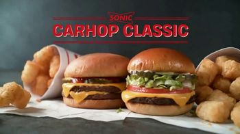 Sonic Drive-In Carhop Classic TV Spot, 'Double' [Spanish]