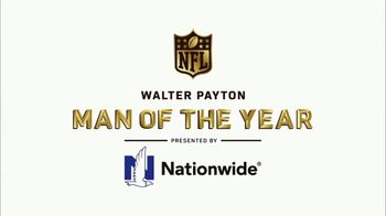 NFL Man of the Year TV Spot, 'Nationwide: Players Making a Difference' - Thumbnail 1