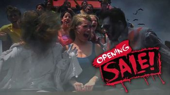 Six Flags Fright Fest Opening Sale TV Spot, 'Bigger and Scarier'