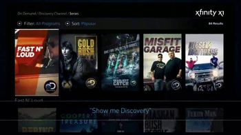 XFINITY X1 Remote TV Spot, 'Discovery Channel' - Thumbnail 5