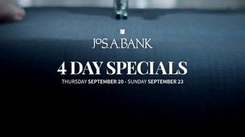 JoS. A. Bank 4 Day Specials TV Spot, 'Expert Tailors' - Thumbnail 1