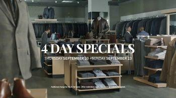 JoS. A. Bank 4 Day Specials TV Spot, 'Expert Tailors' - Thumbnail 8
