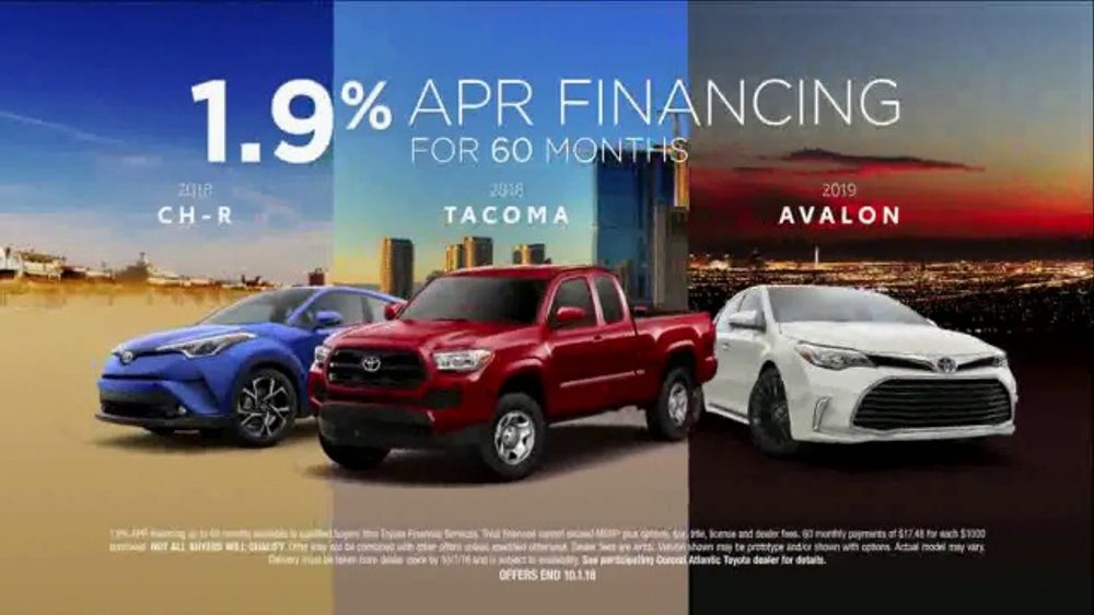 Toyota TV Commercial, 'Low APR Financing' [T2]