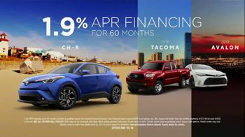Toyota TV Spot, 'Low APR Financing' [T2] - Thumbnail 3